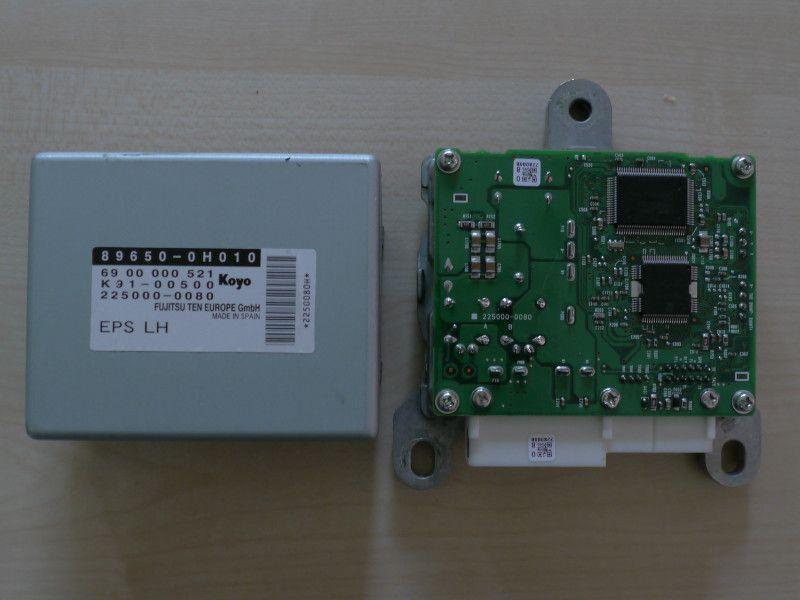 La réparation calculateur de direction assistée C1, 107 et Aygo
