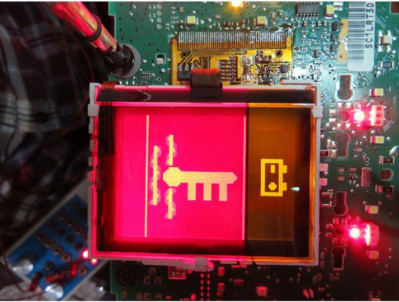 Écran LCD pour compteur VDO, JAEGER, MAGNETI MARELLI